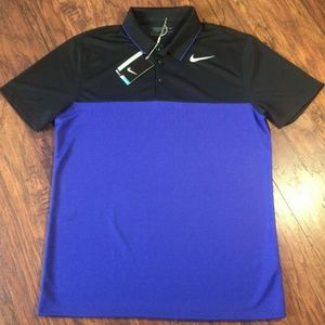 Nike Golf Polo Standar Fit Size M